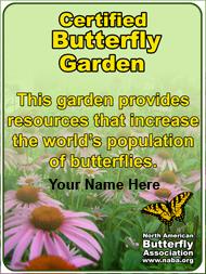 Framable Garden Certificate