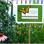 Butterfly Garden Certification Sign