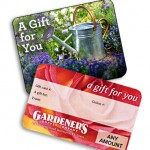Earth day raffle prize Gardeners Supply Gift Cards