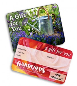 Gardeners Supply Gift Cards