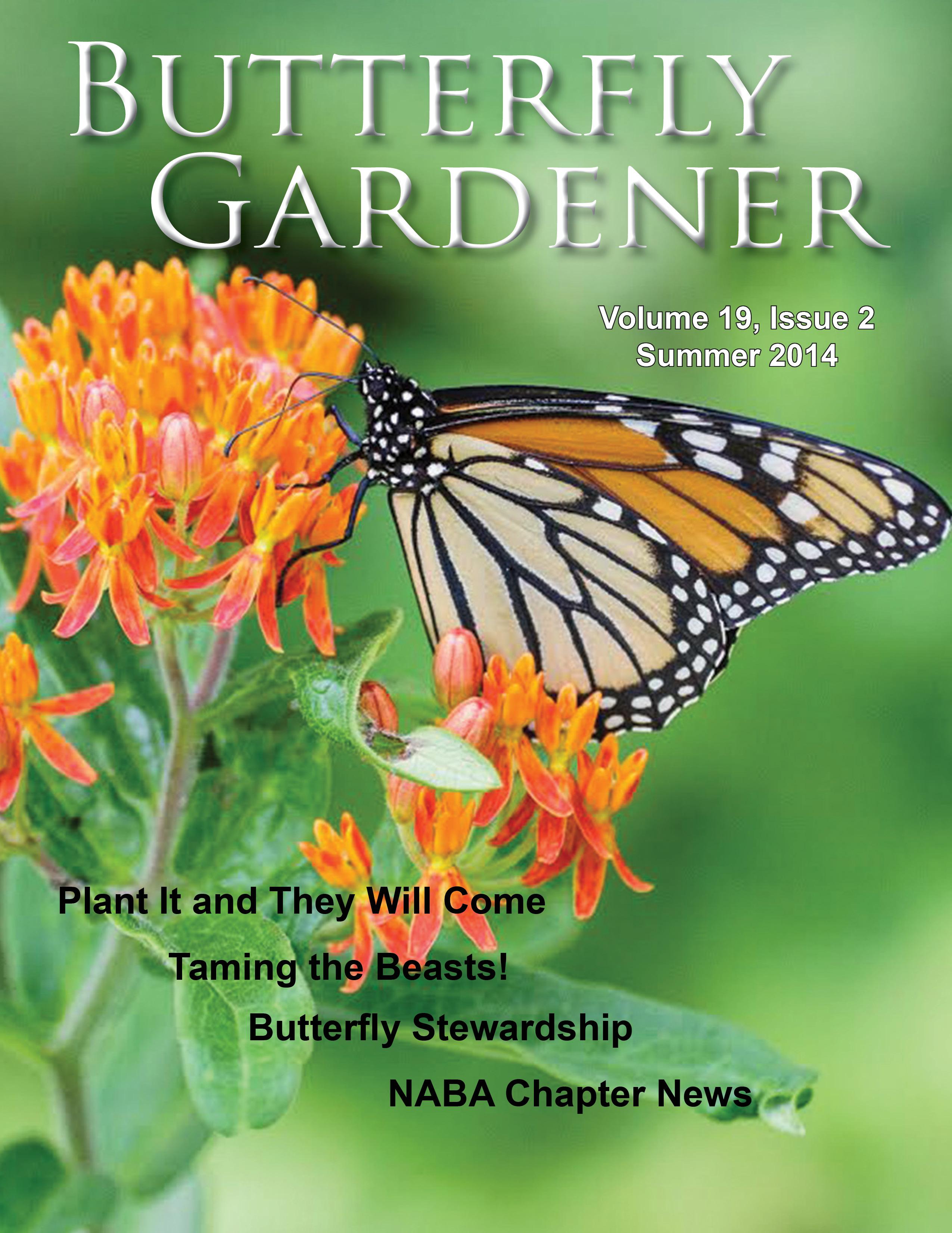 Butterfly Gardener Magzaine Summer 2014