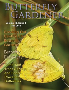 Butterfly Gardener Magazine is published quarterly by North American Butterfly Association